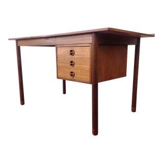 Mid Century Danish Modern Desk by Hans Olsen