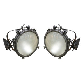 1920s Westinghouse Flood Lights - a Pair For Sale