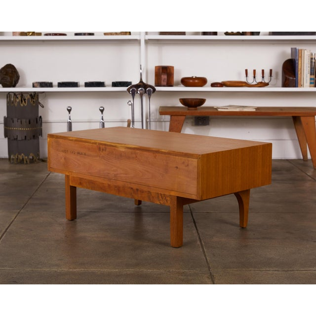 Single Bench With Storage by John Keal for Brown Saltman For Sale In Los Angeles - Image 6 of 12