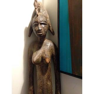 Antique African Female Fertility Statue, Bangwa Congo Preview