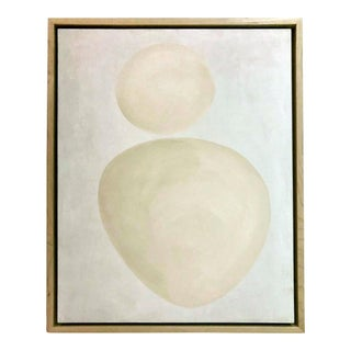 Neutral Abstract 1 - Framed For Sale
