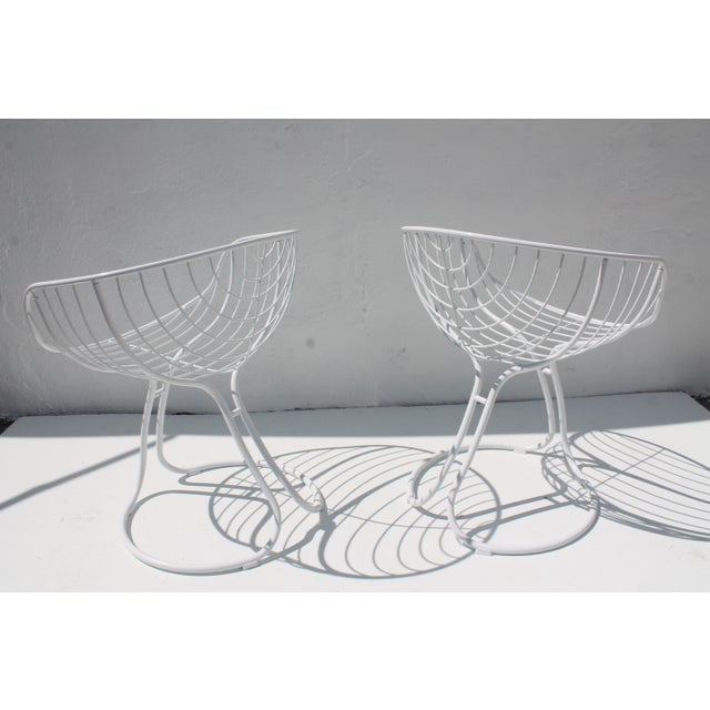 "Italian ""Pan Am"" Logo Chairs - A Pair - Image 5 of 11"