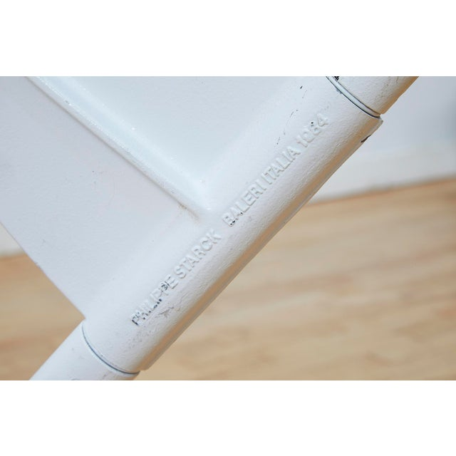 White Philippe Starck President M Dining Table Base For Sale - Image 8 of 13
