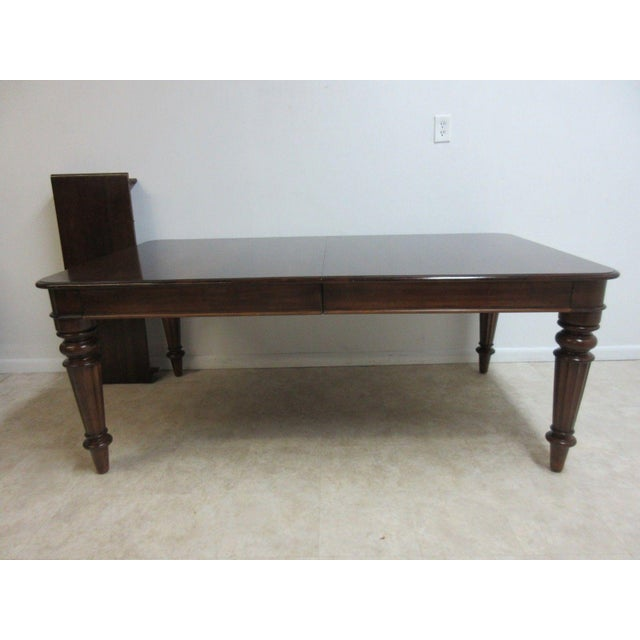 Pennsylvania House Cortland Manor Cherry Banquet Dining Conference Table For Sale - Image 11 of 11