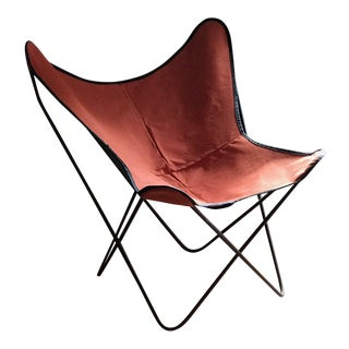 Vintage Mid Century Hardoy Knoll Butterfly Chair For Sale
