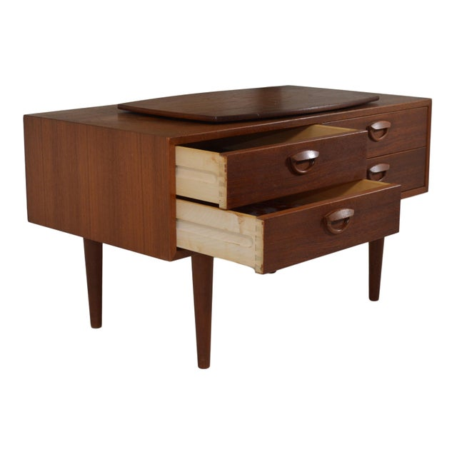 Mid-Century Modern Mid Century Tv Stand by Kai Kristiansen For Sale - Image 3 of 9