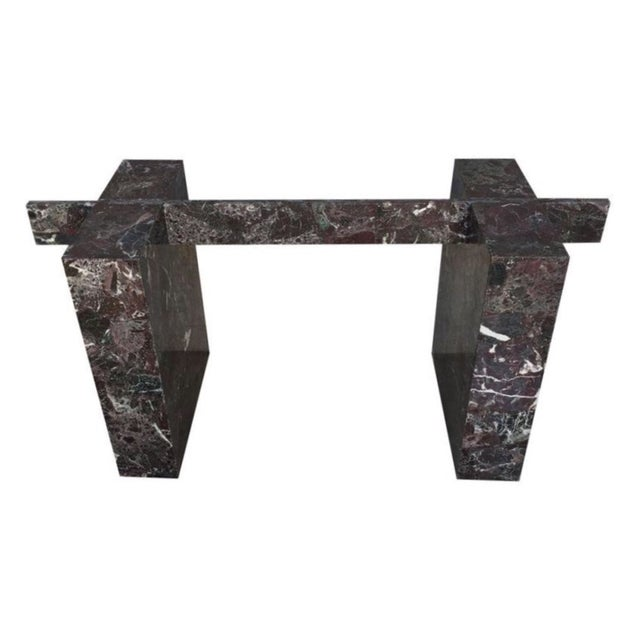 Italian Marble Dining Table Base - Image 1 of 11