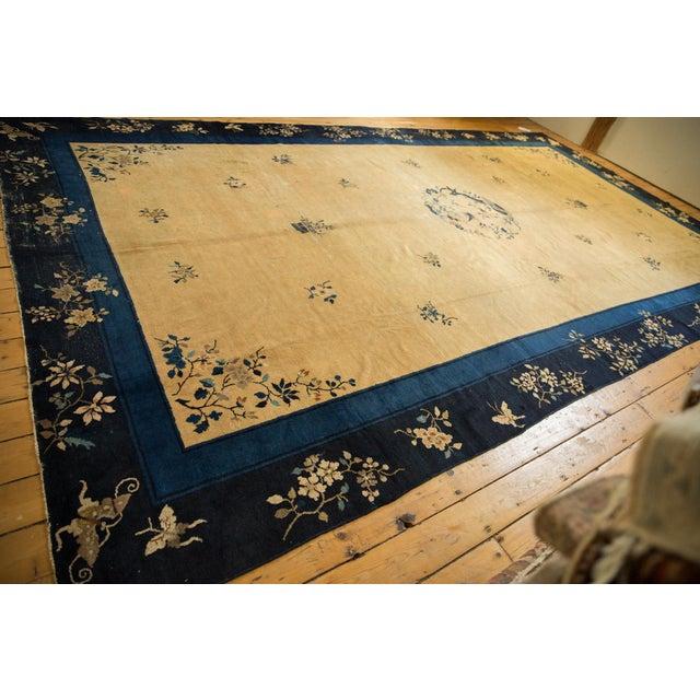 "Vintage Peking Carpet - 9'11"" X 17'4"" For Sale - Image 10 of 13"