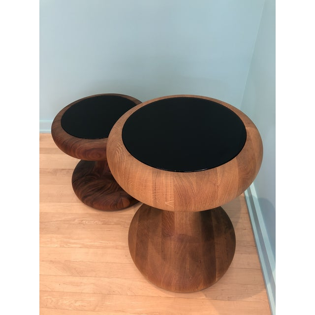 Contemporary Autoban Mushroom Side Tables - A Pair For Sale - Image 3 of 6