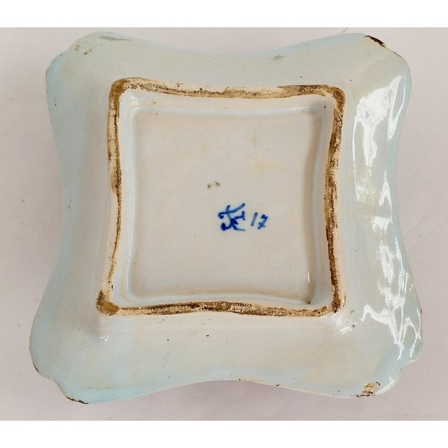 19th C French Faience Inkwell - Image 6 of 8