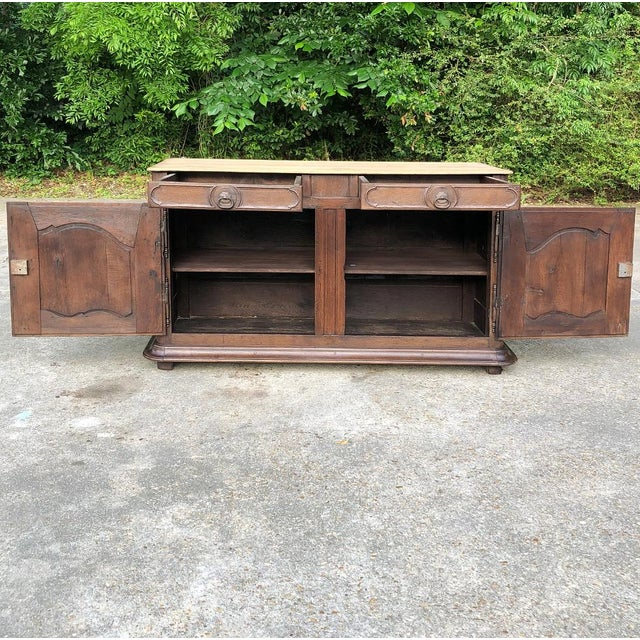Early 19th Century French Provincial Buffet For Sale In Dallas - Image 6 of 13