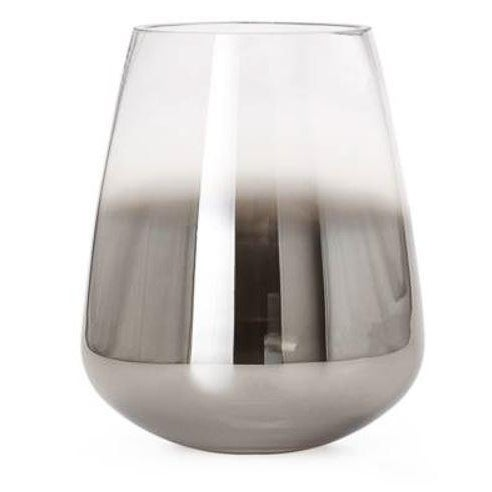 2010s Kenneth Ludwig Smoke Mirror Cone Vase For Sale - Image 5 of 5
