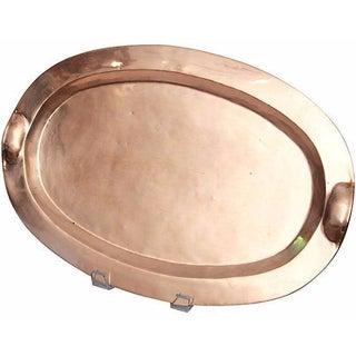 Copper & Brass Oval Tray