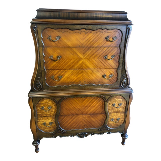 1930s Art Deco Chest With Drawers For Sale