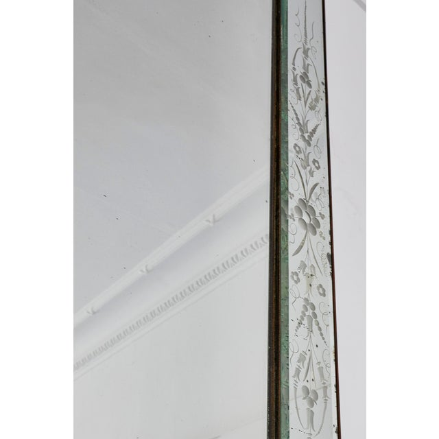 Large Italian Venetian Mirror For Sale - Image 4 of 9