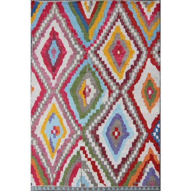 Textile 21st Century Vintage Turkish Tulu Rug- 8′6″ × 12′3″ For Sale - Image 7 of 7