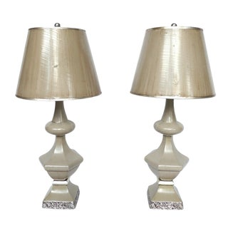 1950s Dorothy Draper Table Lamps - A Pair