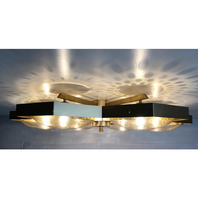 Not Yet Made - Made To Order Hive Flush Mount by Fabio Ltd For Sale - Image 5 of 13