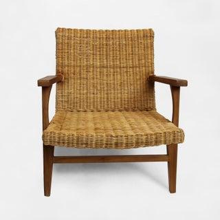 Modern Natural Fiber Easy Chair Preview