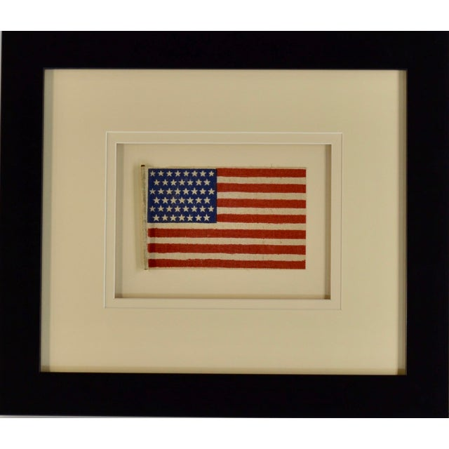 Late 19th Century Antique 45 Star Flag, 1896 For Sale