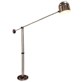 Italian 70's Giant Floor Lamp by Sergio Asti For Sale
