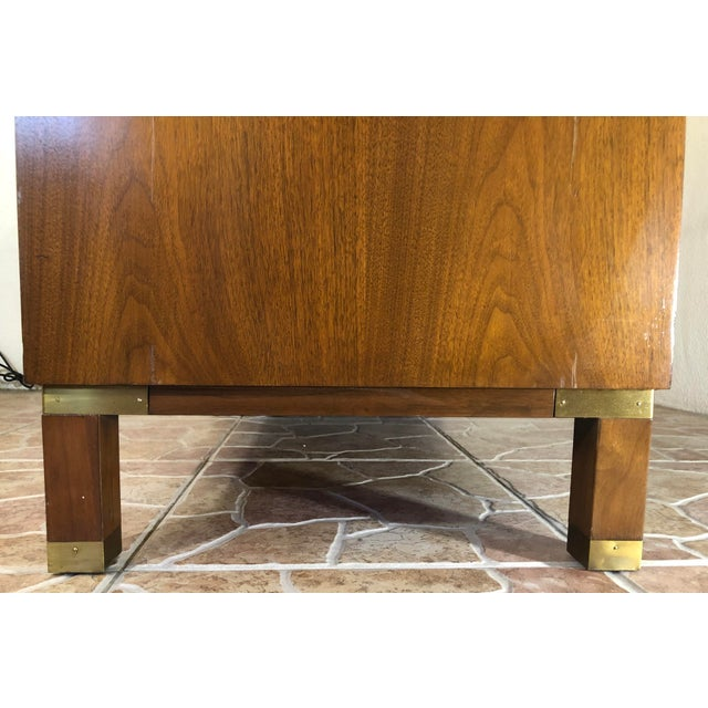 1960s Mid-Century Super Fine Baker Furniture Chest For Sale - Image 5 of 13