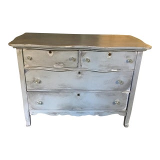 Vintage Distressed Gray Dresser