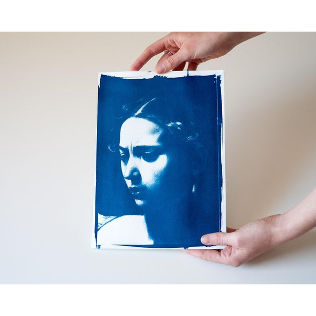 Craft Cyanotype Print - Caravaggio Painting For Sale - Image 4 of 4