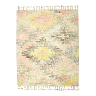 West Elm Multi-Colored Wool Rug - 5' x 8'