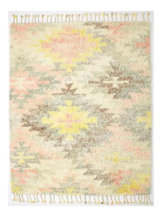 West Elm Multi Colored Wool Rug   5u0027 ...