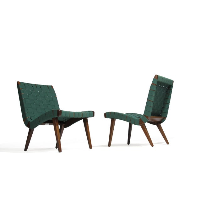 Mid-Century Modern Jens Risom for Knoll Studio Lounge Chairs For Sale - Image 3 of 11