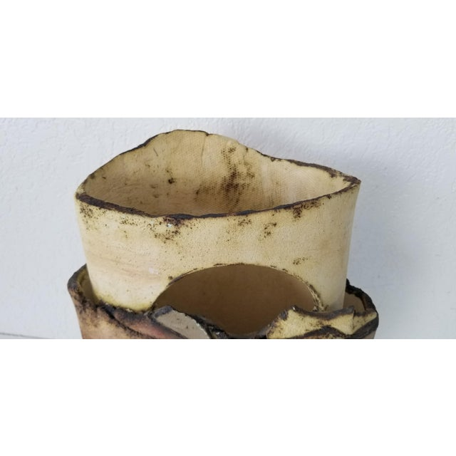 1985 Vintage Art Pottery With Landscape Motif, Signed For Sale In Miami - Image 6 of 11