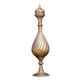 Tall Late 19th Century Pajar Mehl Vase For Sale