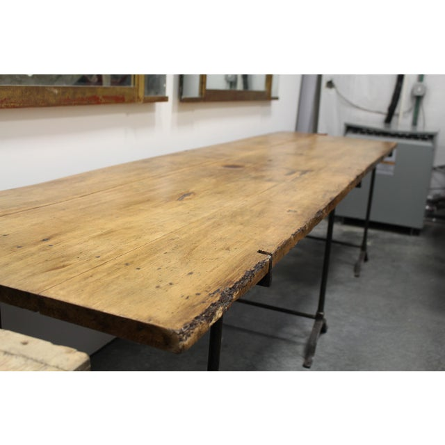 This is a great unusual size and would make a great hall table too or on a covered porch.