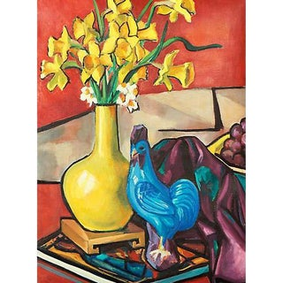 Still Life of Daffodils, Virginia Rogers For Sale