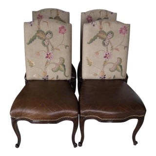 Ralph Lauren Dining Chairs- Set of 4 For Sale