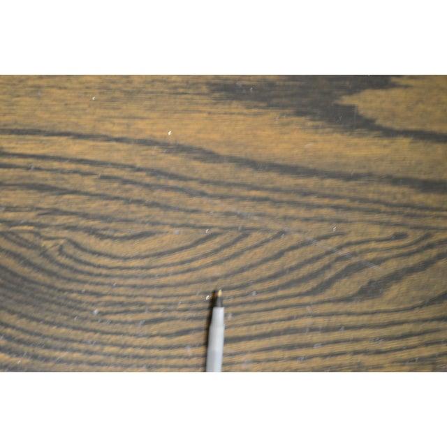 j.k. Rishel Antique Arts & Crafts Mission Oak Library Table Desk No. 811 For Sale - Image 10 of 13