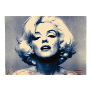 "Original Marilyn Monroe Photo From ""The Last Sitting"" Signed By Bert Stern 18/50"