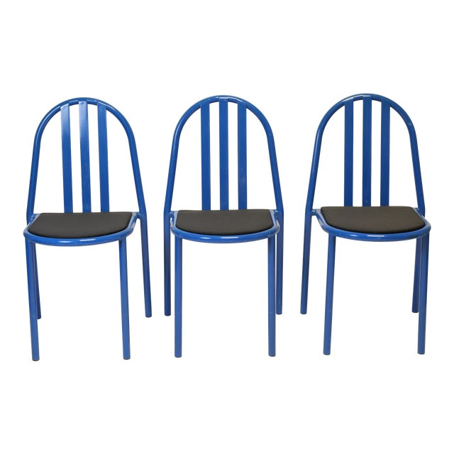 Bauhaus Robert Mallet-Stevens Chairs, Stackable - Set of 3 For Sale
