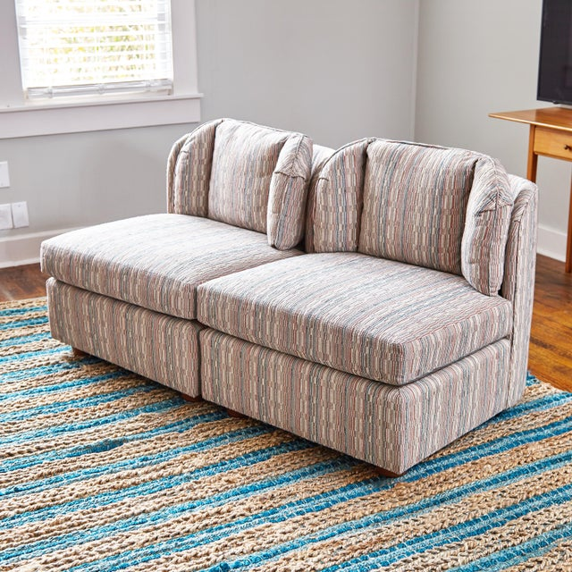 Henredon Mid-Century Henredon 5 Piece Sectional Sofa For Sale - Image 4 of 13