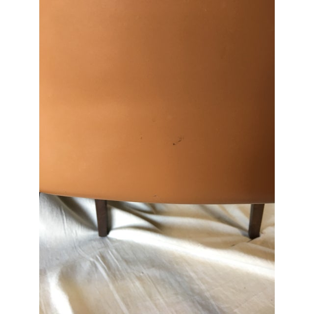 Wood Leather Dining Chairs by Cattelan Italia - Set of 6 For Sale - Image 7 of 13