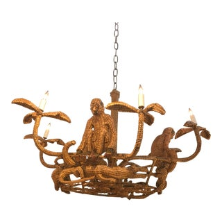 Mario Torres Lopez Chandelier For Sale