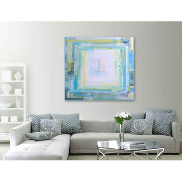 """St CROiX"", Abstract Painting by Linnea Heide - Image 6 of 6"