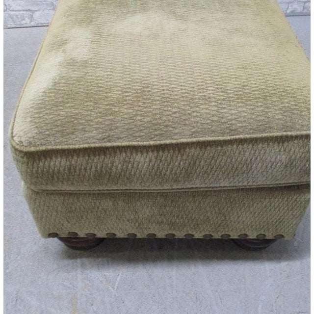 Fabric Cr Laine Ottoman Bench For Sale - Image 7 of 8