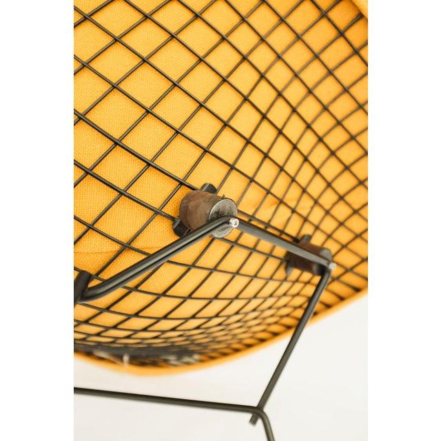 1970s Danish Modern for Knoll International Bertoia Large Diamond Chair For Sale - Image 10 of 11