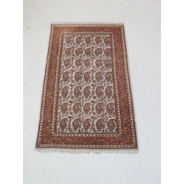 1960s Vintage Persian Area Rug - 2′11″ × 5′7″ For Sale - Image 13 of 13