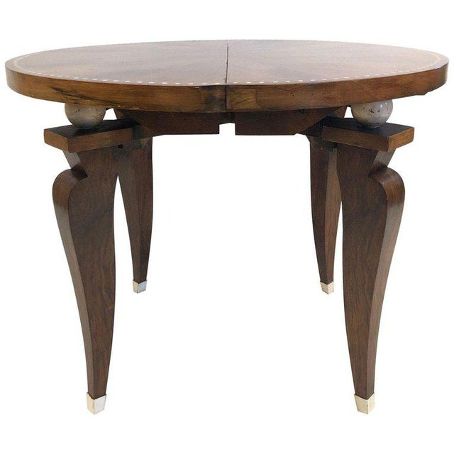1930s French Art Deco Adjustable Table For Sale - Image 11 of 11