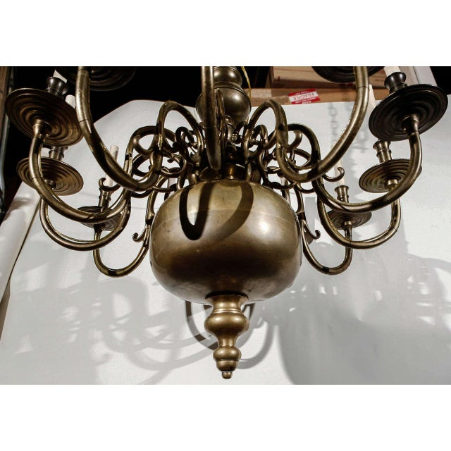 12-Light Chandelier For Sale - Image 10 of 10