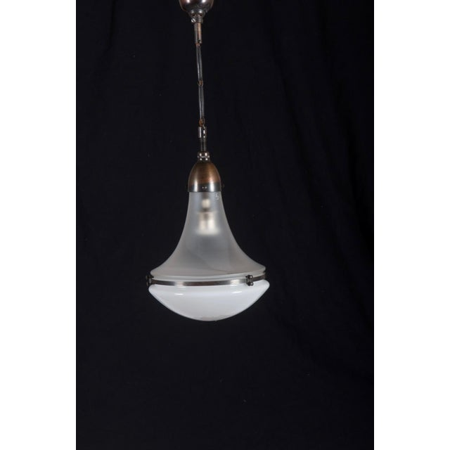 Copper Luzette Pendant by Peter Behrens for Siemens For Sale - Image 7 of 9
