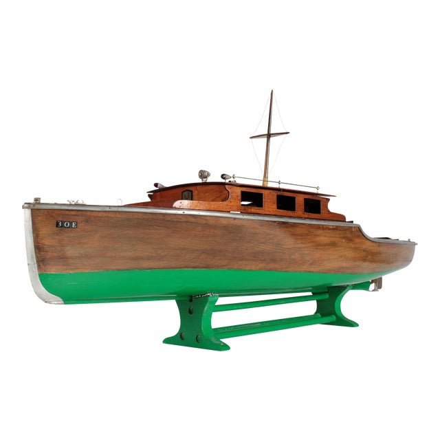 1940s Steam Powered Wooden Boat - Image 1 of 11